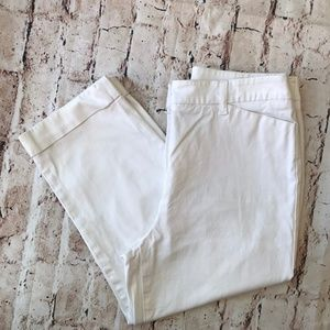 Jones New York White Capri Pants SZ 10P